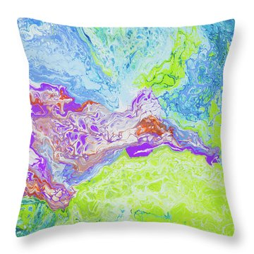 Central Maui Throw Pillow