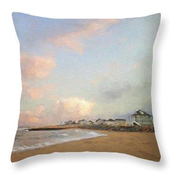 Cezanne Sunset Throw Pillow