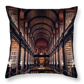 Chamber Of Eternal Wisdom Throw Pillow