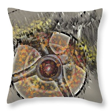 Champagne Glasses 4 Throw Pillow