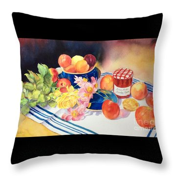 Chaos In The Kitchen Throw Pillow