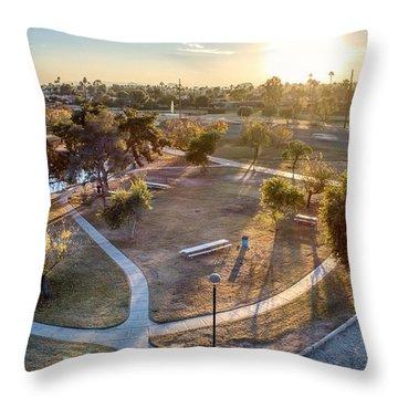 Chaparral Park Throw Pillow