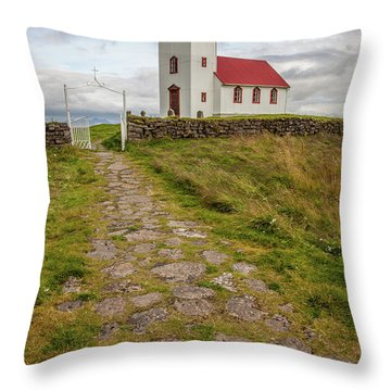 Chapel Walk Throw Pillow