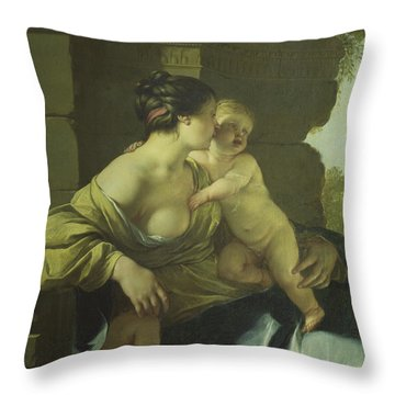 Charity, 1637 Throw Pillow