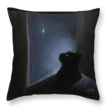 Charlie's Christmas Spirit Throw Pillow