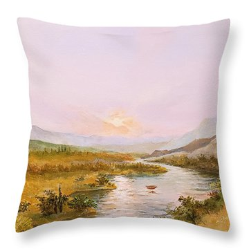 Charon's Sabbatical Throw Pillow