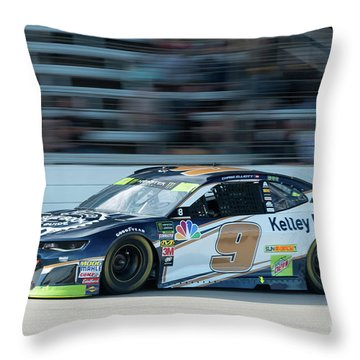 Chase Elliott #9 Throw Pillow