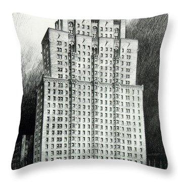 Chateau Crillon Throw Pillow