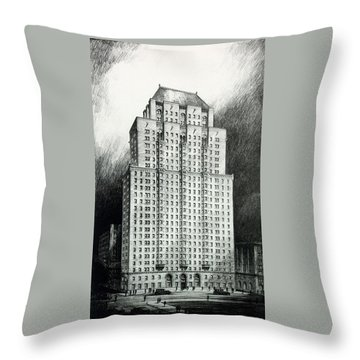 Chateau Crillon Throw Pillow