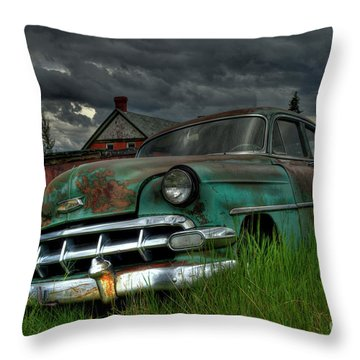 Chevy  Bel Air Throw Pillow