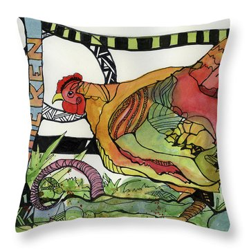 Chicken Throw Pillow