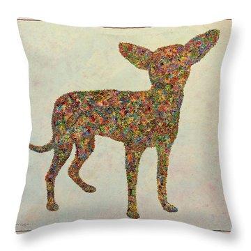 Chihuahua-shape Throw Pillow
