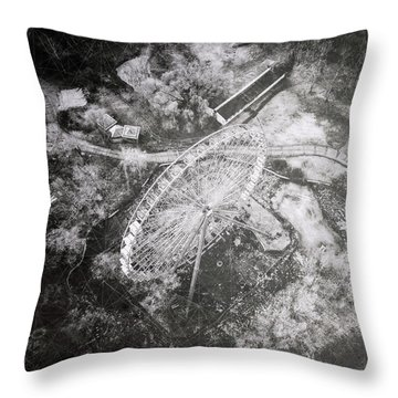 Throw Pillow featuring the photograph Child's Play by Susan Maxwell Schmidt