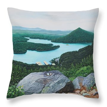 Chilhowee Overlook Throw Pillow