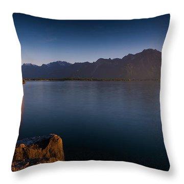 Schloss Throw Pillows