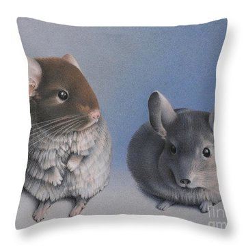 Chins Up Throw Pillow