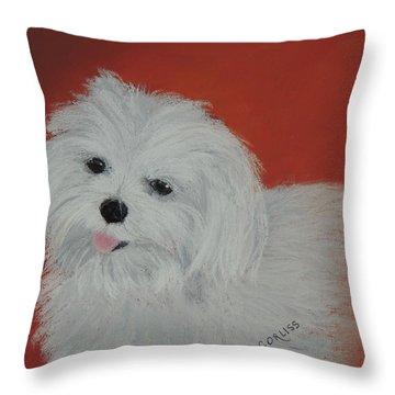 Chloe's Angel Throw Pillow
