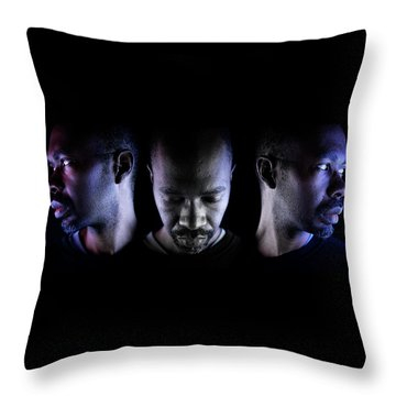 Throw Pillow featuring the photograph Choice. by Eric Christopher Jackson