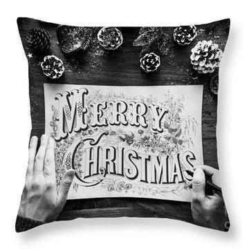 Christmas 1 Throw Pillow