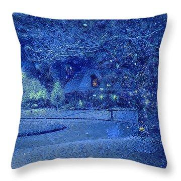 Christmas Eve Throw Pillow