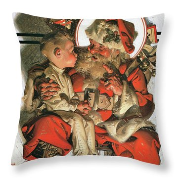 Christmas Eve - Digital Remastered Edition Throw Pillow