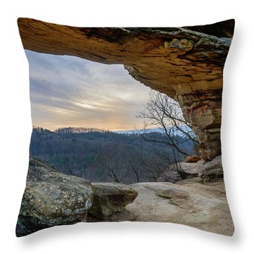 Chronicles Of The Gorge Throw Pillow