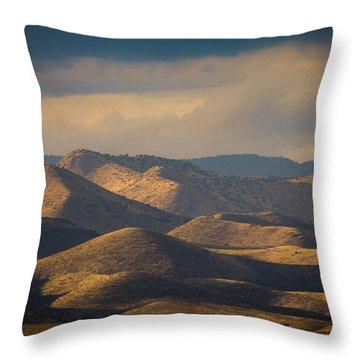 Chupadera Mountains II Throw Pillow