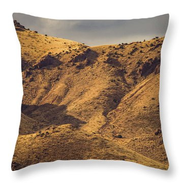 Throw Pillow featuring the photograph Chupadera Mountains by Jeff Phillippi