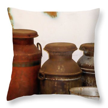 Churns For Milk  2 Throw Pillow