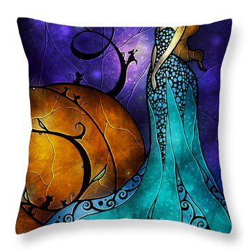 Cinderella Throw Pillow