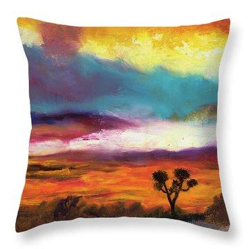 Cindy Beuoy - Arizona Sunset Throw Pillow