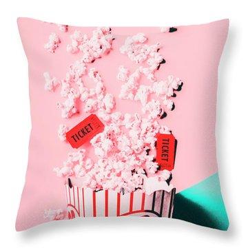 Cinema Pop Throw Pillow