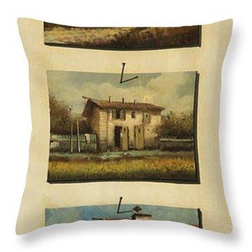 cinque gocce di Toscana Throw Pillow