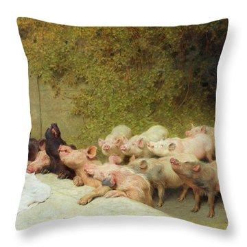 Riviere Throw Pillows