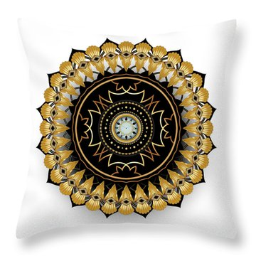 Circumplexical No 3511 Throw Pillow