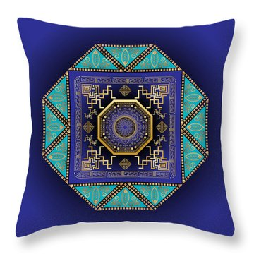 Circumplexical No 3555 Throw Pillow