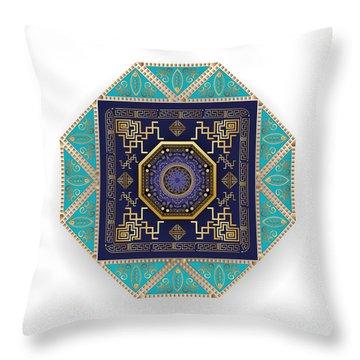 Circumplexical No 3556 Throw Pillow