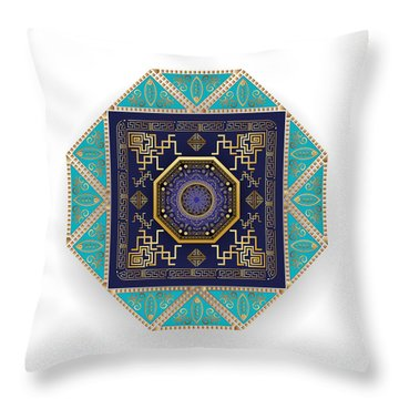 Circumplexical No 3556 Throw Pillow