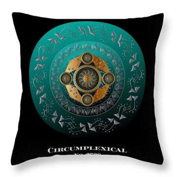Circumplexical No 3739.1 Throw Pillow