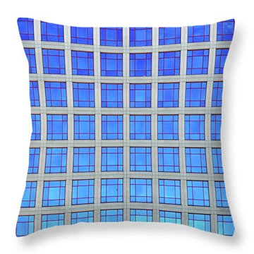 City Grids 60 Throw Pillow