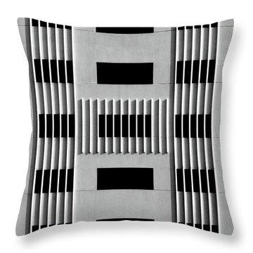 City Grids 64 Throw Pillow