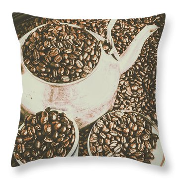 Classic Coffee  Throw Pillow