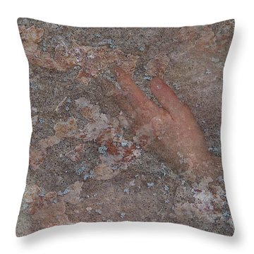 Throw Pillow featuring the digital art Classic Fragment by Attila Meszlenyi