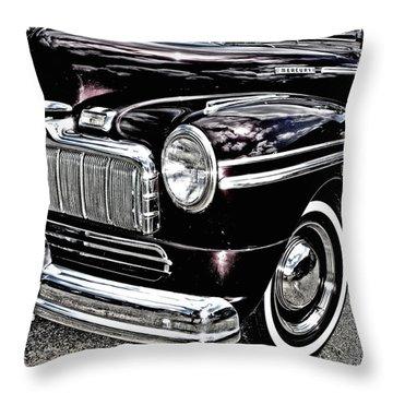 Classic Mercury Throw Pillow
