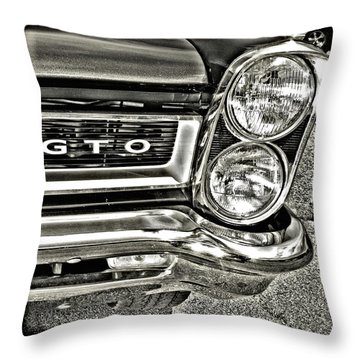 Classic Pontiac Throw Pillow