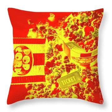 Classic Splashback Throw Pillow