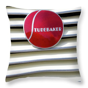 Classic Studebaker Logo Throw Pillow