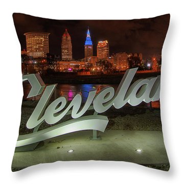 Cleveland Proud  Throw Pillow
