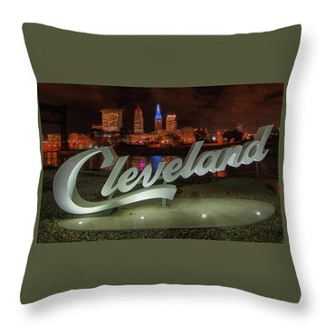 Cleveland Proud  Throw Pillow