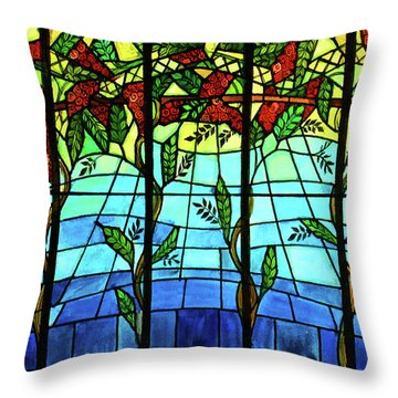 Climbing Vines Throw Pillow